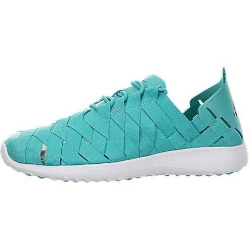 Nike Womens Juvenate Woven Clear JadeBlackWhite Casual Shoe 6.5 Women US