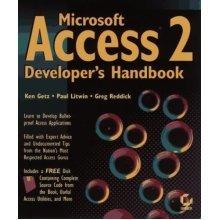 Microsoft Access 2 Developer's Handbook