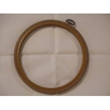 "Siesta 6"" Round Plastic Flexi Hoop - Woodgrain Effect"