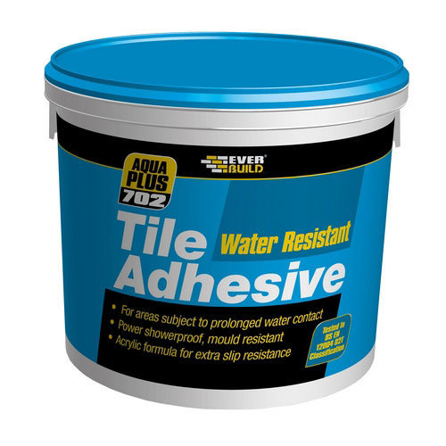 Everbuild 702 Water Resistant Tile Adhesive 2.5 Litre