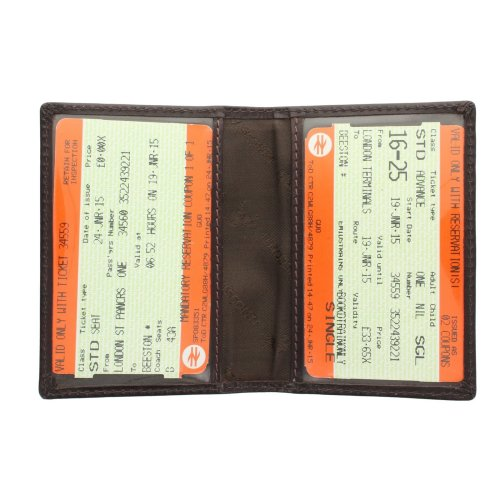 Visconti Leather Oyster Card / Travel Pass Holder TC1TC