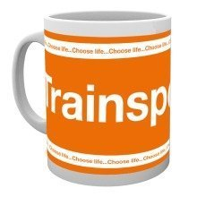 Trainspotting Logo Mug
