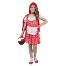 Kids Storybook Red Riding Hood Costume