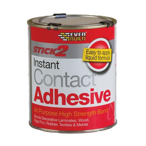 Everbuild Stick2 All Purpose Premium Grade Contact Adhesive 750ml