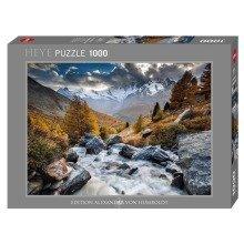 Hy29712 - Heye Puzzles - 1000 Pc - Mountain Stream