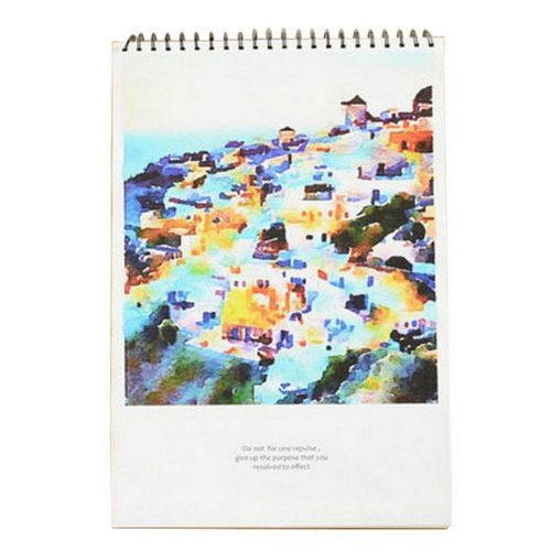 [Large Size] Practical Spiral Binding Artist Sketchbook Painting Book