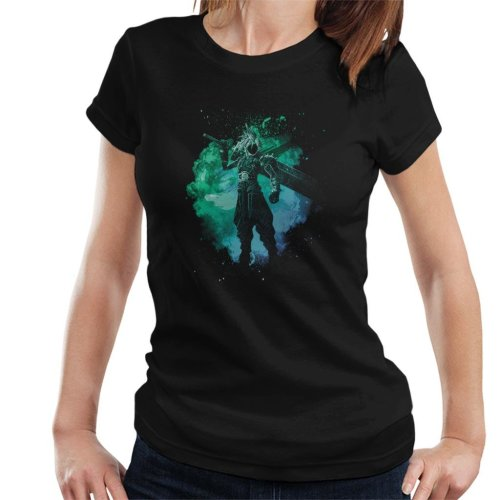 Soul Of The Meteor Cloud Strife Final Fantasy VII Women's T-Shirt
