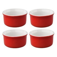 Tala Originals 4 x Pinch Pots, Red, 4-piece - Pots Red 4piece -  tala originals 4 x pinch pots red 4piece