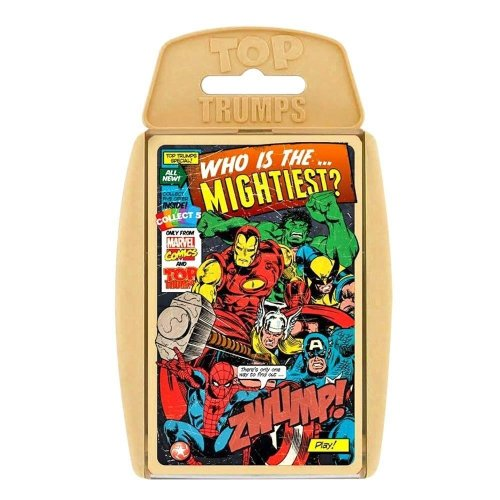 Marvel Comics Top Trumps Specials