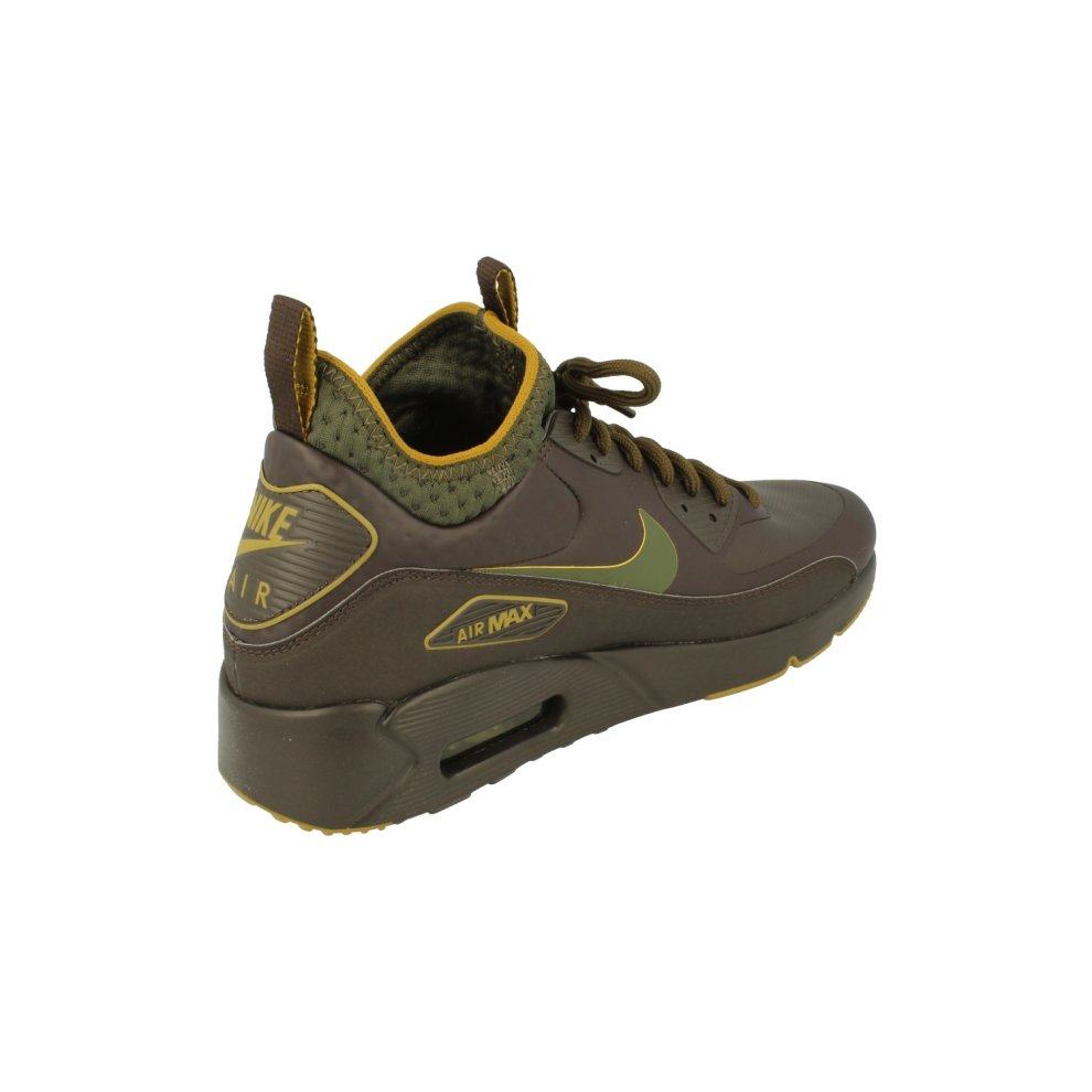 daad1ce5334 ... Nike Air Max 90 Ultra Mid Winter Se Mens Hi Top Trainers Aa4423 Sneakers  Shoes ...