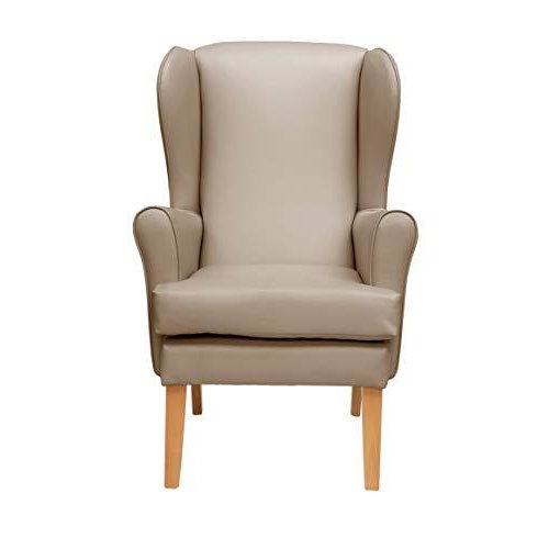 MAWCARE Morecombe Orthopaedic High Seat Chair - 21 x 18 Inches [Height x Width] in Richmond Mushroom (lc21-Morecombe_r)