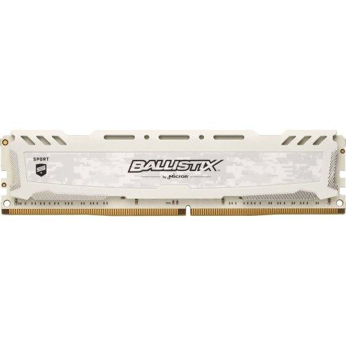 Crucial Ballistix Sport LT 8Gb DDR4 2666MHz Module - White