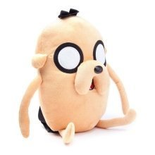 Adventure Time Unisex Jake Character Plush Backpack One Size - Beige