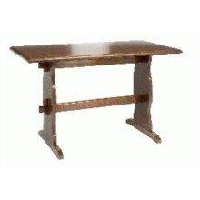 Yankee Wood Table Walnut Solid Hardwood 92 X 68