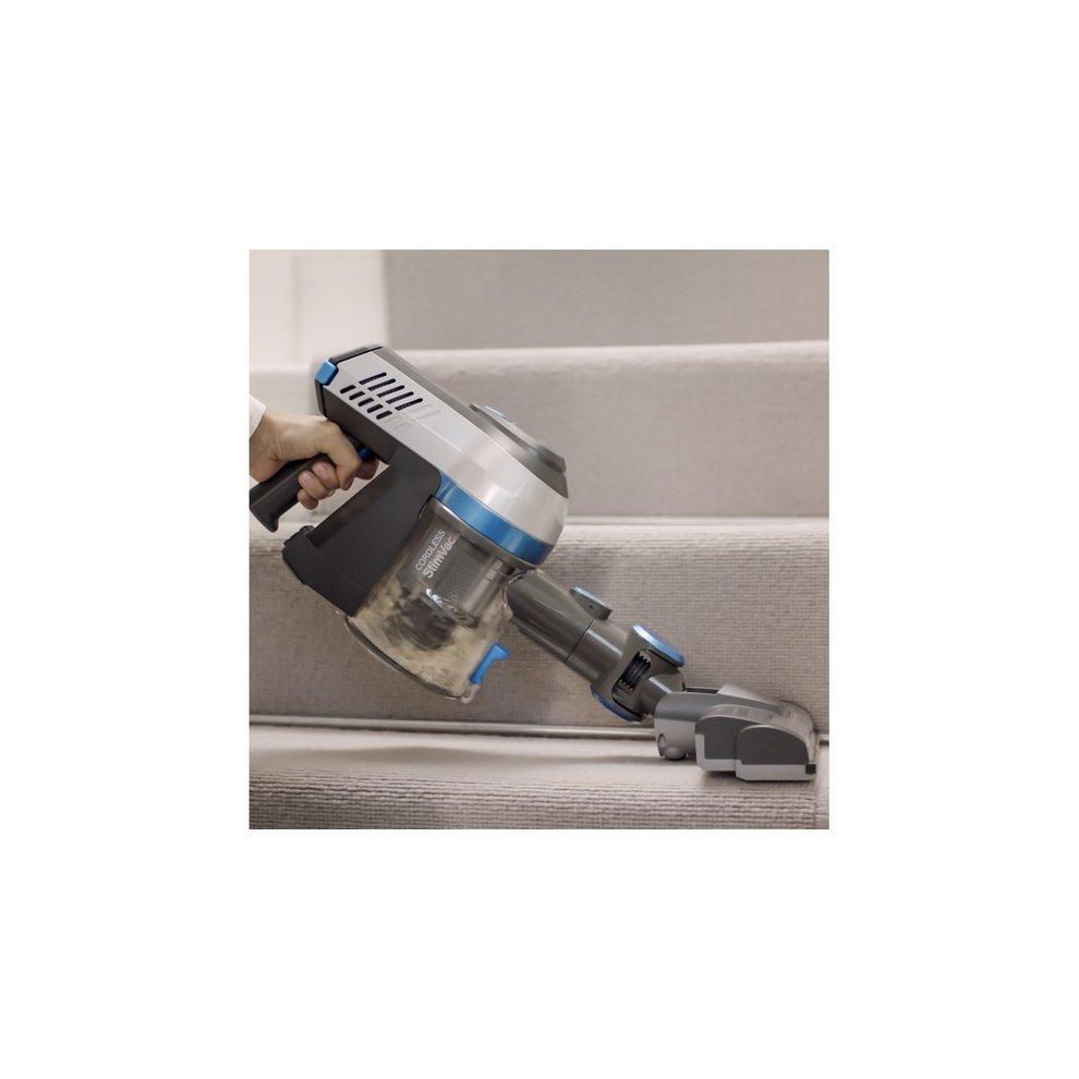 vax cordless slimvac vacuum cleaner handheld stick. Black Bedroom Furniture Sets. Home Design Ideas