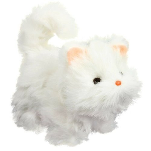 Walking Fluffy Pet Kitten / Cat - Battery Operated Toy