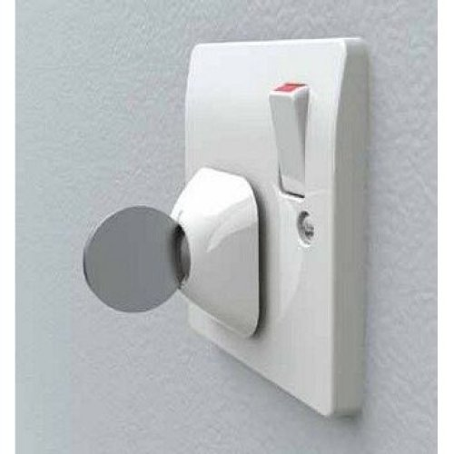 Lindam Dualguard Electric Socket Covers Lockable 4pk