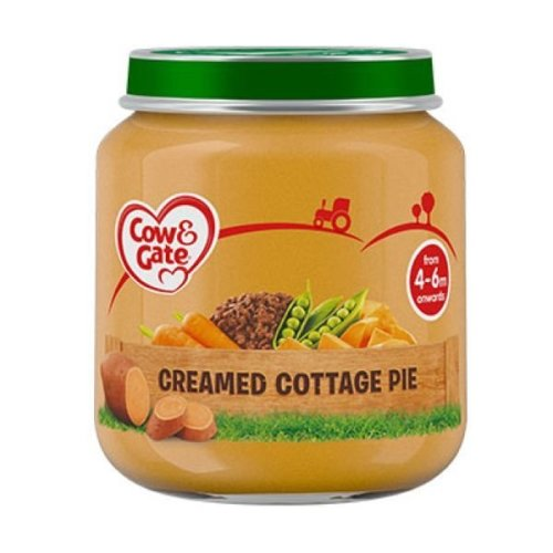 Cow & Gate Creamed Cottage Pie Jar (6 x 125g)