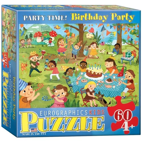 Eg60600468 - Eurographics Puzzle 60 Pc - Birthday Party (mo)