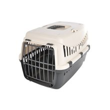 Friend Comfort 6ani649bc Plastic Small Pet Carrier 46x 31x 32cm - Trixie -  trixie drainage mat transporting box journey various sizes new