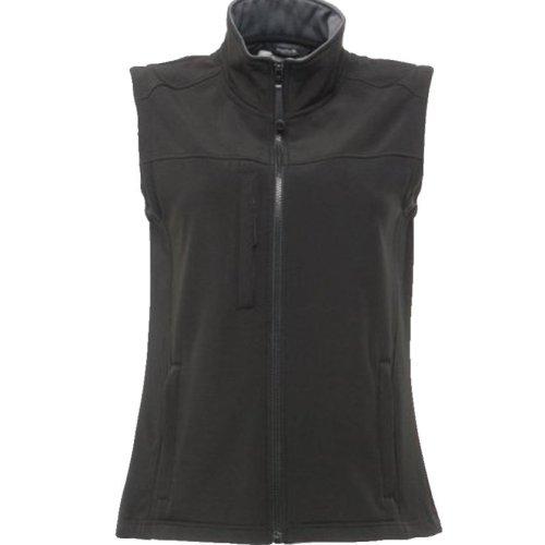 Regatta  Womens Body-warmer Padded Gilet Black soft shell Stylish size 10 TRA790