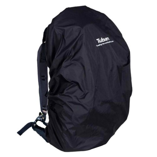 Outdoor Riding Backpack Rain Cover Waterproof Backpack Cover-40 L Black
