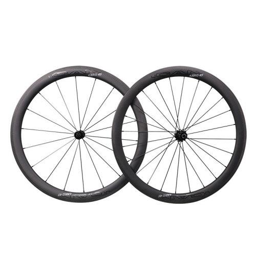 ICAN Carbon Road Bike Wheels AERO 45