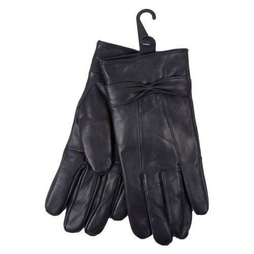 Ladies Sheepskin Soft Supple Stylish Leather Gloves Lined with Warm Fleece