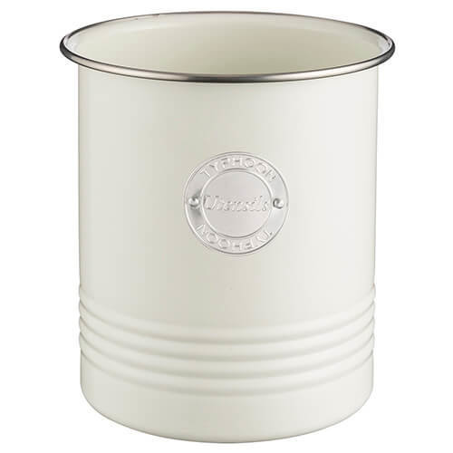 Typhoon Living Cream Utensil Pot
