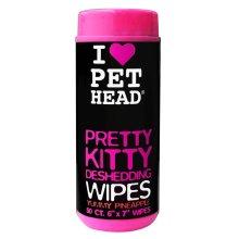 Pet Head Pretty Kitty Wipes Pineapple De Shed 50pk