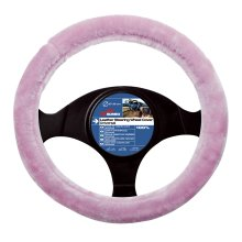 37-39cm Pink Fabric Wheel Cover - Steering Sumex 2505059 Textile -  steering wheel cover sumex pink 2505059 textile