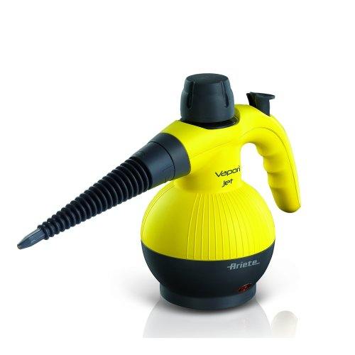 Ariete 4133 Vapori Jet Hand Held Steam Cleaner, 900 W, Yellow