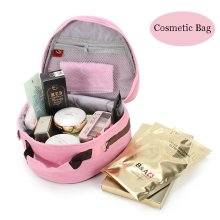 Women Girls Retro Chinese Style Cosmetic Bag Crossbody Backpack