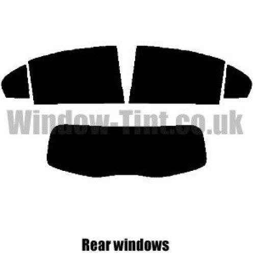 Pre cut window tint - Mercedes A-Class 5-door Hatchback - 2013 and newer (W176) - Rear windows