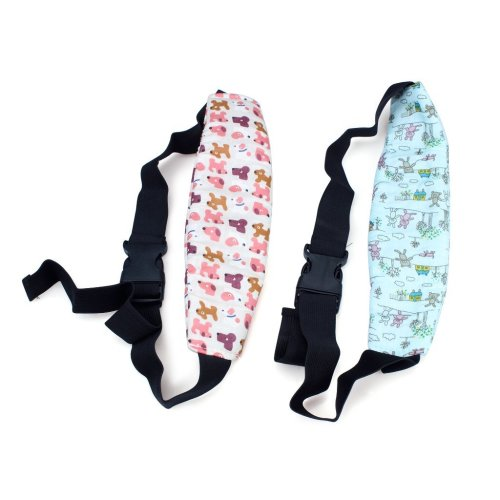 2PCS Toddler Safety Car Seat Sleep Nap Aid Baby Kids Head Support Holder Belt