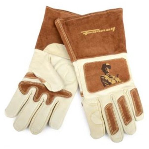 Forney Industries Inc 53410 Mens Signature Welding Gloves - Large