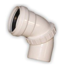 Adjustable Universal Elbow Connector Joint Pipe Sewage System Installation