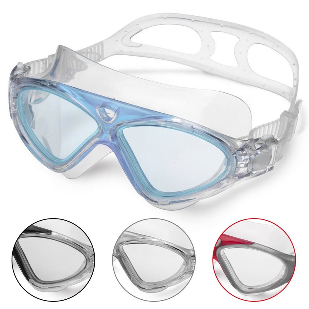 76ca77ac3b Swimming Goggles Adult Anti Fog No Leaking Clear Vision UV Protection Easy  to Adjust Professional+Suitable for Men and Women on OnBuy