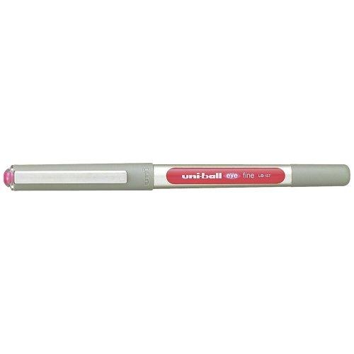 uni-ball Eye Fine UB-157 Rollerball Pen - Pink, Pack of 12