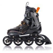 METEOR® HERO Inline Skates | Children | Ladies | Adjustable Size: 32-35 / 36-39 | ABEC 7