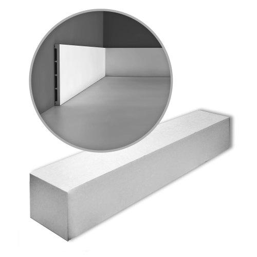 Orac Decor SX168-box AXXENT SQUARE Skirtings 1 Box 17 pieces | 34 m