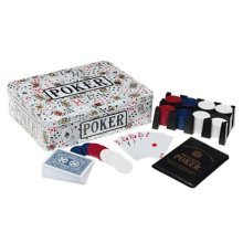 Texas Hold Em Poker Set With Chips