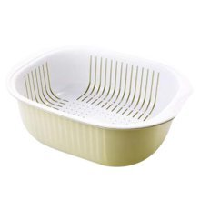 Multifunction Living Room Fruit-Plate Kitchen Vegetable Plate Drain Basket #02