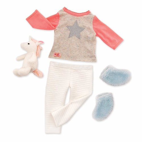 Our Generation Unicorn Wishes PJ Dolls Outfit
