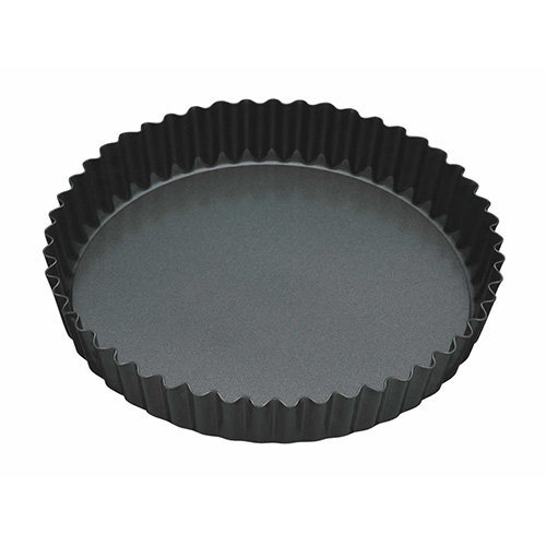 "Master Class Non-Stick Fluted Loose Base Quiche Tin Round 25cm (10"")"