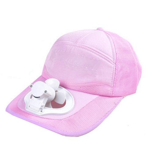 Summer Fan Hat with Fan Fishing Sun Visor Cap#N