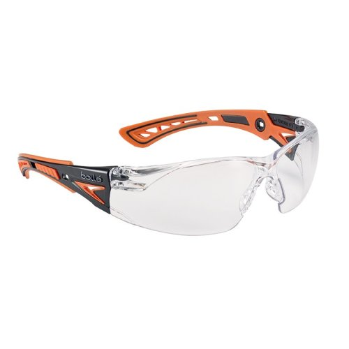 Bolle RUSH+ RUSHPPSIO Safety Glasses - Clear Lens