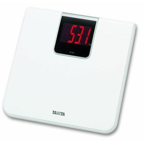 Tanita Digital Bathroom Scale - White (HD-395 WH)
