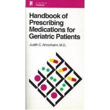 Handbook of Prescribing Medications for Geriatric Patients