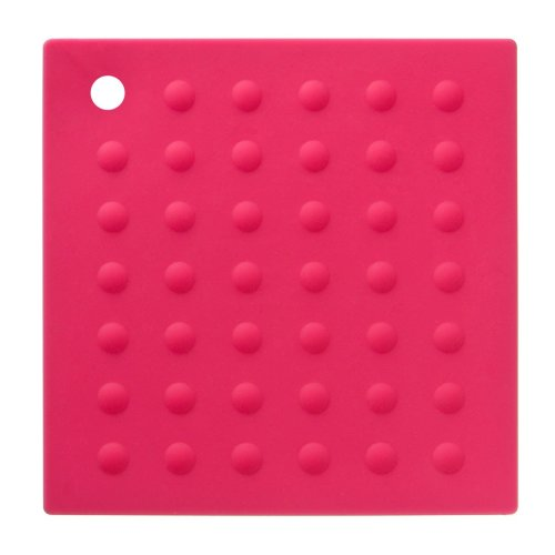 Zing Silicone Trivet - Hot Pink